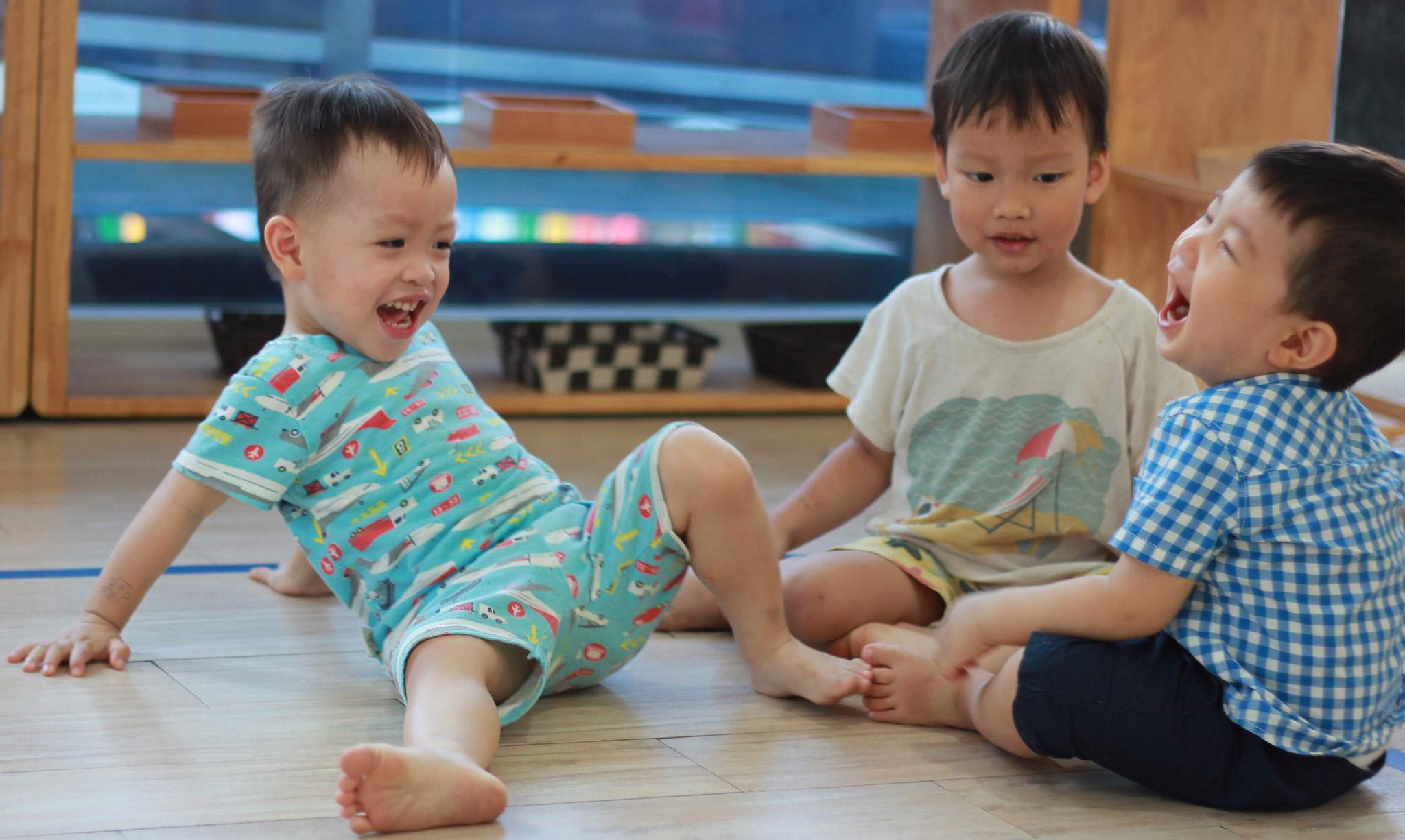Trường mầm non Smiling Fingers dạy theo phương pháp Montessori