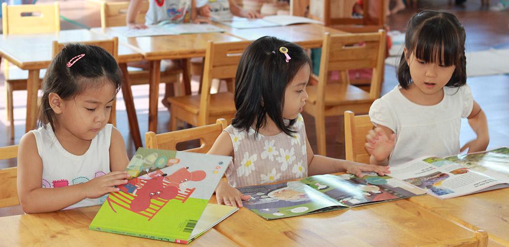 Trường mầm non Montessori với quy trình dạy học chuyên biệt