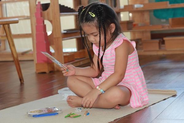 Phương pháp dạy trẻ độc lập thông qua những trò chơi logic