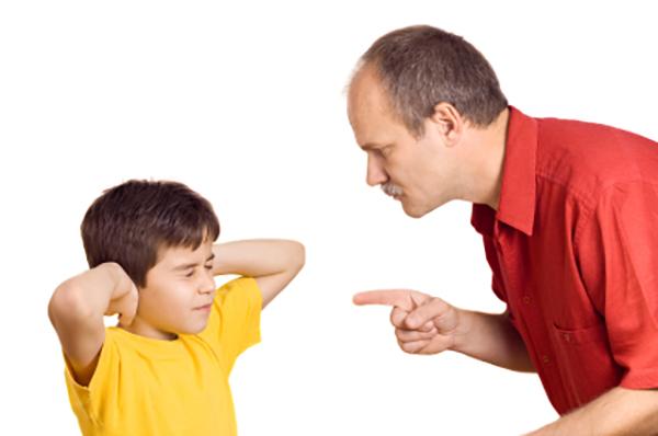 Trẻ không biết cách sửa sai khi mắc lỗi