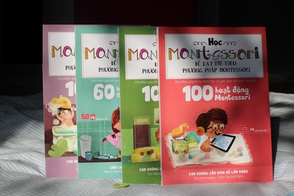 Cha mẹ nên tham khảo sách phương pháp Montessori