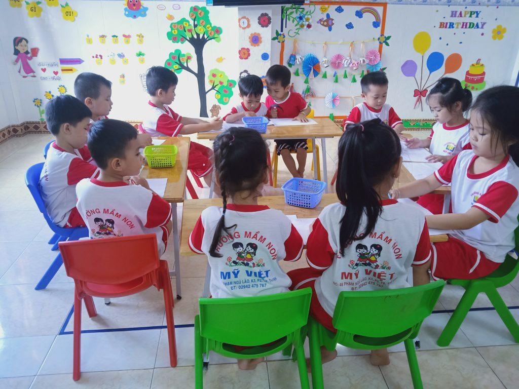 mầm non quận phú nhuận Việt Mỹ